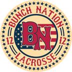 BUNCHNATION12 Lacrosse Logo